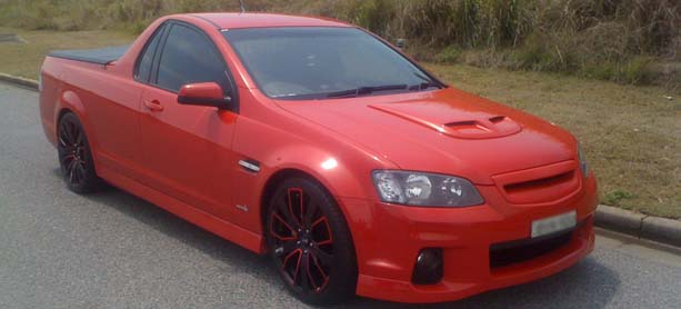 2011 Holden SV6 – Advanti Tourer Red