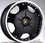 OX Wheel - 618 Black