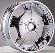 OX Wheel - 618 Chrome