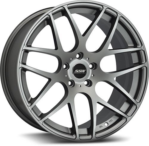 SSW Performance Wheels - LXM-1 M-Spec Gun Metal