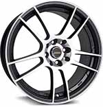 SSW Performance Wheels - S093 Spider Polish Black