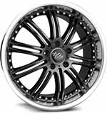 SSW Performance Wheels - S076 Phantom Black