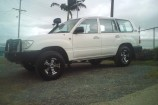 Alloy Wheels Toyota Landcruiser  Allied Wasp Black