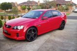 Alloy Wheels Commodore VE SV6  Advanti Gauntlet Black 22in