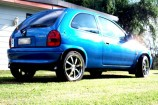 Alloy Wheels 99 Holden Barina  Advanti Apollo 17in