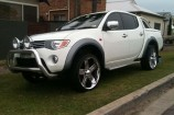 Alloy Wheels 07 Mitsubishi Triton GLX-R  Equus 22in Chrome
