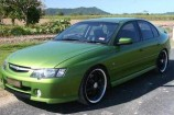 Alloy Wheels 2002 Commodore VY SS  Advanti Sabotage Black 22in