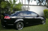 Alloy Wheels 2007 Commodore VE SS  XHP Jet Chrome