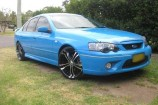 Alloy Wheels Ford BA Mk II XR6 Turbo  XHP Tuff Black 20in