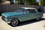 Alloy Wheels 1966 Ford Falcon XP  Koya Racetek Chrome 18in