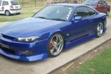 Alloy Wheels Nissan 200SX S15 SPEC S  Zenetti Fives Chrome 19in