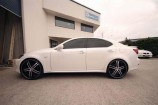 Alloy Wheels Lexus IS250 GSE20R   Zenetti Masquerade B 22in