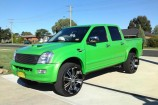 Alloy Wheels Holden Rodeo  22in
