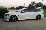 Alloy Wheels Holden VE Wagon  XHP Tuff Black 20in