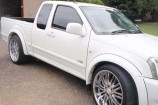 Alloy Wheels Holden Rodeo 2004  22in Chrome