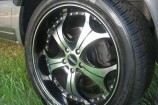 Alloy Wheels 06 Ford Territory SY TX  Versus 22in VC634