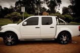Alloy Wheels 2009 Nissan Navara D40  Osaka Sparks 20in